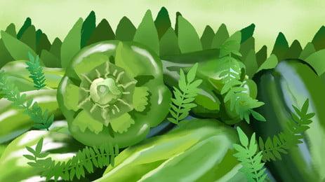 ताजा जैविक हरी सब्जियों विज्ञापन पृष्ठभूमि, ताज़ा, कार्बनिक, हरे रंग की पृष्ठभूमि पृष्ठभूमि छवि
