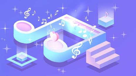 lãng mạn đài quảng cáo nền âm nhạc mới mẻ, Quảng Cáo Nền, Lãng Mạn., Trong Lành Ảnh nền