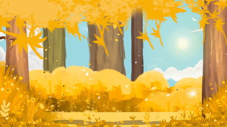 fresh wheat field advertising background, Advertising Background, Plant, Wheat Field Background image