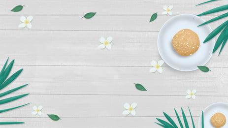 ताजा लकड़ी अनाज फूल नाश्ता पोस्टर पृष्ठभूमि डिजाइन, पेड़ की पत्ती, फूल, लकड़ी का दाना पृष्ठभूमि छवि