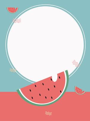 fruit minimalistic background , Fruit, Watermelon Red, Minimalism Background image