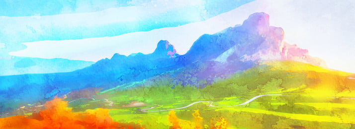 full aesthetic color mountain view background, Color, Mountain Peak, Landscape Background image