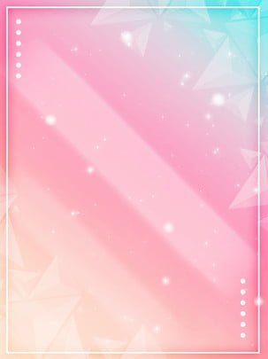 full fashion gradient geometric triangles fantasy soft poster background , Atmosphere, Gradient, Pink Background image