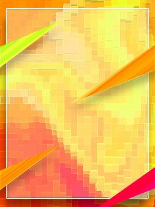 full hình tam giác gradient vuông khảm nền , Tam Giác, Màu Hồng, Cam Ảnh nền