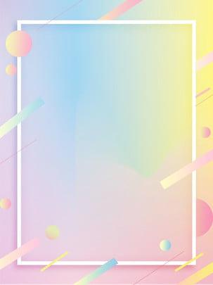 Full girl poster macarons gradient nền mềm Cô gái tuổi Hồng Độ Cô Hình Nền