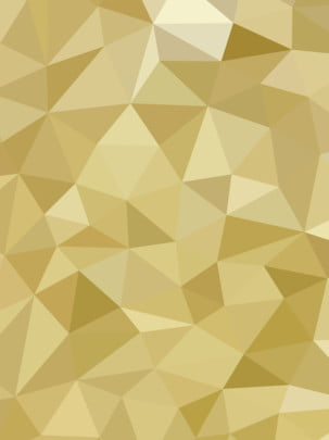 full gold gradient triangle polygon background panel design , Technology, Geometric, Polygon Background image