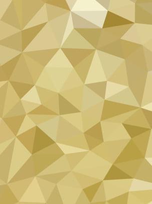 Thiết kế bảng điều khiển đa giác nền tam vàng đầy đủ Công Nghệ Hình Hình Nền