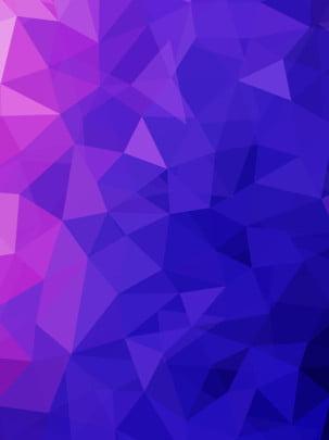 フルグラデーション三角形ポリゴン背景パネルデザイン , テクノロジー, ジオメトリ, 多角形 背景画像