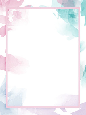 Full Irregular Watercolor Splash Ink Light Color Background Material, Gradient, Soft Color, Teenage Girl, Background image