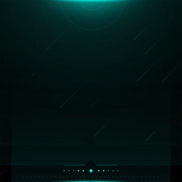 full light and shadow technology meteor dark green background , Light And Shadow, Technological Sense, Meteor Background image