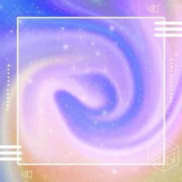 幾何学的なファンタジー星空の紫色の背景 , 広場, クリエイティブ, ジオメトリ 背景画像