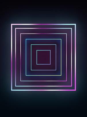 Geometric Gradient Neon Background, Gradient, Geometric, Neon, Background image