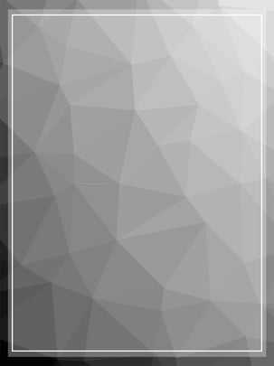 geometric low polygon simple fresh black and white background material , Geometric, Low Polygon, Simple Background image