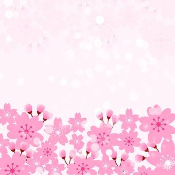 arquivo de fonte flor rosa cosméticos garota , Flor De Cerejeira, Flor De Pêssego, Linda Imagem de fundo