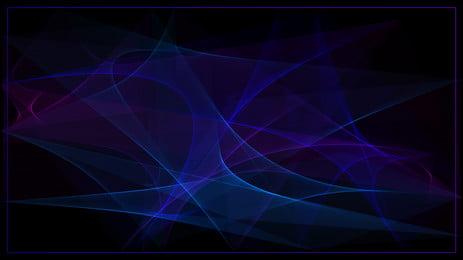 glare mát mẻ màu xanh tím gradient vật liệu nền đơn giản, Ánh Sáng Chói, Tuyệt, Màu Xanh Tím Ảnh nền