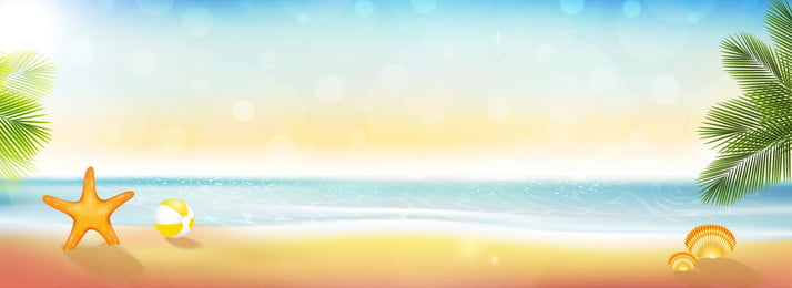 golden beach romantic beautiful banner background, Sunlight, Beach, Beautiful Background image