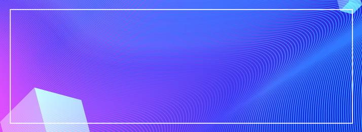 Gradient công nghệ cảm giác hình nền banner Khối lập phương Độ Xanh Khối Gradient Hình Nền