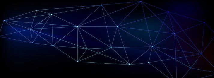 漸變三角形多邊形背景展板設計, 科技, 幾何, 多邊形 背景圖片