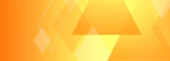 Gradient Yellow Tone Geometric Banner Background Tone,geometric,simple, Gradient Yellow Tone Geometric Banner Background, Tone, Geometric, Background image