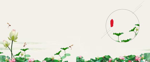 創造的な合成夏背景テンプレート 猛暑 夏 伝統的なソーラー用語 24ソーラーターム 真夏 クリエイティブ合成 ロータスの背景 中華風, 猛暑, 夏, 伝統的なソーラー用語 背景画像