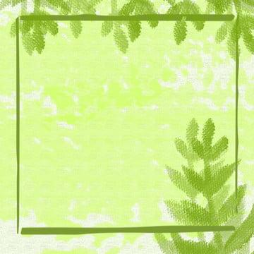 हरा हाथ चित्रित हरी पत्ती पृष्ठभूमि सामग्री , ग्रीन, पेड़ की पत्ती, आबरंग पृष्ठभूमि छवि