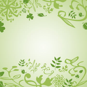 녹색 잎 최소한의 그라디언트 배경 , 녹색 잎, 기울기, 녹색 배경 이미지