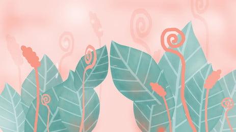 Green lá hồng phim hoạt hình nền Màu Xanh Lá Hình Nền