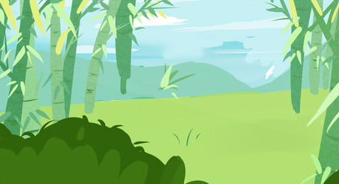 綠色青翠竹子草地背景, 綠色, 青翠, 竹子 背景圖片