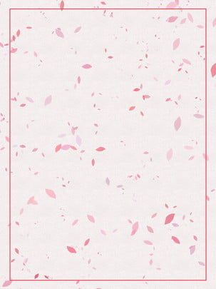 Hand painted gouache watercolor pink petal background material , Hand Painted, Gouache, Watercolor Background image