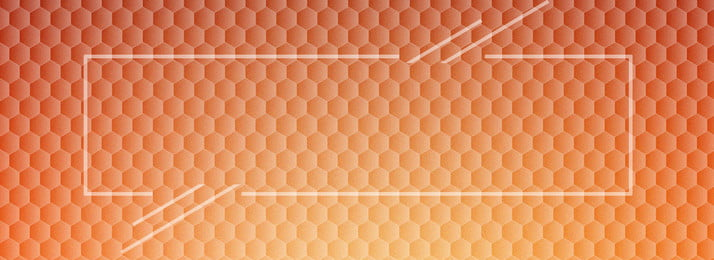 Harvest Hexagonal Hive Simple Border Background Mùa thu Thu hoạch Tổ Viền Cảnh Đơn Hình Nền