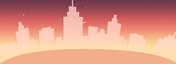nhà cao tầng hoàng hôn sao độ dốc, Nhà Cao Tầng, Nhóm Cao Tầng, Độ Dốc Ảnh nền