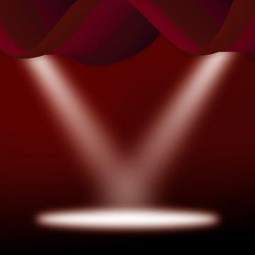 ホリデーパーティーステージの背景素材 , ホリデーパーティー, ステージ, 軽い 背景画像