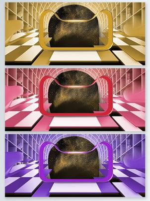 理想的な生活ブラックゴールド風ステレオポスターの背景 ブラックゴールド風 立体 金 バックグラウンド 66 軽い 紫色 立体 熱気球 グラデーションの背景 ブラックゴールド風 立体 金 背景画像