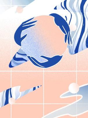 Illustrator tròn tay hình học gradient nghệ thuật đa năng cao cấp Độ dốc Hoang dã Sáng Độ đồ Xanh Hình Nền