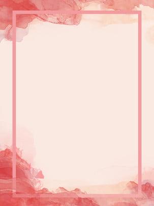 स्याही गुलाबी चीनी पवन सुरुचिपूर्ण पृष्ठभूमि पोस्टर , स्याही, ब्रश, गुलाबी पृष्ठभूमि छवि