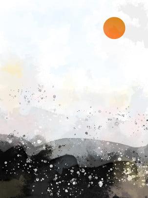 Ink style sleek minimalist dreamy background , Ink, Fashion, Simple Background image