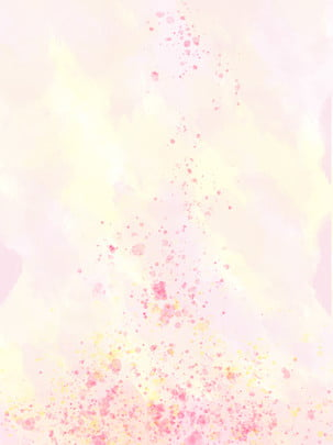 Ink Style Yellow Pink Wild Background Illustration, Ink, Watercolor, Red, Background image