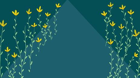 燈光黃色花束深藍背景, 燈光, 黃色, 花束 背景圖片
