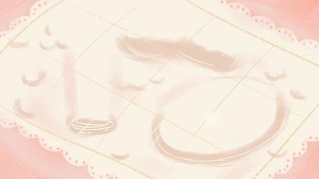 साहित्यिक ताजा फीता मेज़पोश विज्ञापन पृष्ठभूमि, विज्ञापन की पृष्ठभूमि, गुलाबी पृष्ठभूमि, किशोर दिल पृष्ठभूमि छवि