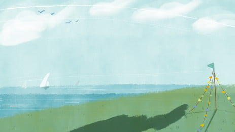 साहित्यिक ताजा समुद्र तटीय विज्ञापन पृष्ठभूमि, विज्ञापन की पृष्ठभूमि, समुंदर के किनारे का, ताज़ा पृष्ठभूमि छवि