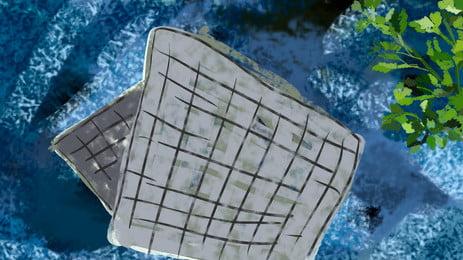 साहित्यिक पुरानी पवन ग्रे प्लेड मेज़पोश विज्ञापन पृष्ठभूमि, पौधा, आबरंग, ग्रे मेज़पोश पृष्ठभूमि छवि