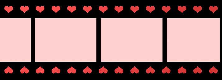 amo o fundo de banner filme, Dia Dos Namorados, Foto Dos Namorados, Romântico Imagem de fundo