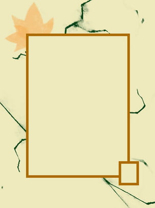 Maple leaf border simple background , Maple Leaf, Concise, Frame Background image