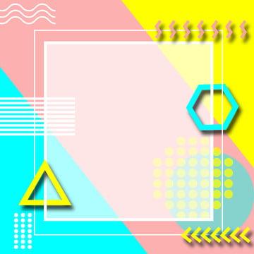 メンフィスカラーブロックステッチ幾何学的な素材の背景 , メンフィス, カラーブロック, ステッチ 背景画像