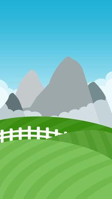 micro stereo cỏ cảnh quan núi vật liệu nền , Kính Hiển Vi, Núi Xa, Đồng Cỏ Ảnh nền