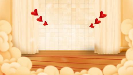 micro stereo red love window sill chất liệu nền buổi sáng tốt, Chào Buổi Sáng, Tình Yêu, Kính Hiển Vi Ảnh nền