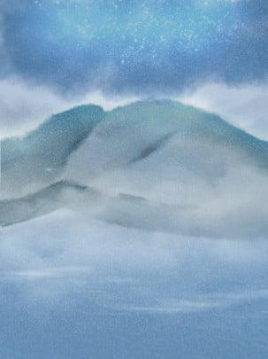 Ánh sao đêm mây xanh xanh lông mòng cổ phong tự nhiên Bích chương Trung Quốc Phong Hình Nền