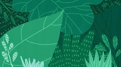 自然の新鮮な緑の葉の広告の背景 広告の背景 手絵 元気である 背景画像