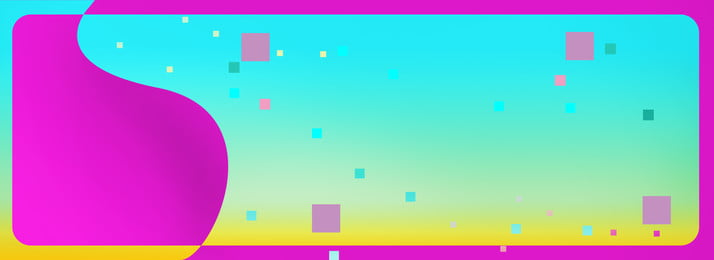 Neon Colored Banner Background Color Gradient Squares, Background, Geometric, Gradient, Background image