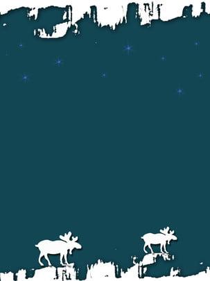 北歐抽象雪山麋鹿風格背景 , 北歐, 背景, 商業 背景圖片